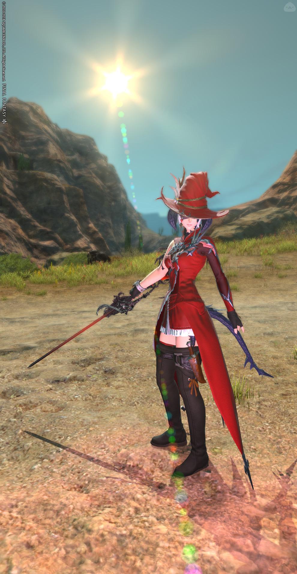 紅の魔導剣士
