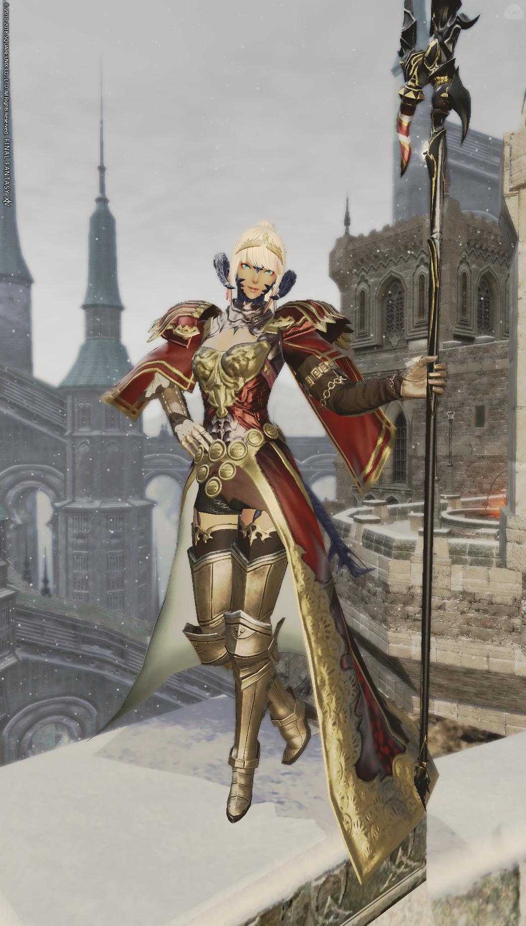 皇都を守る竜騎士