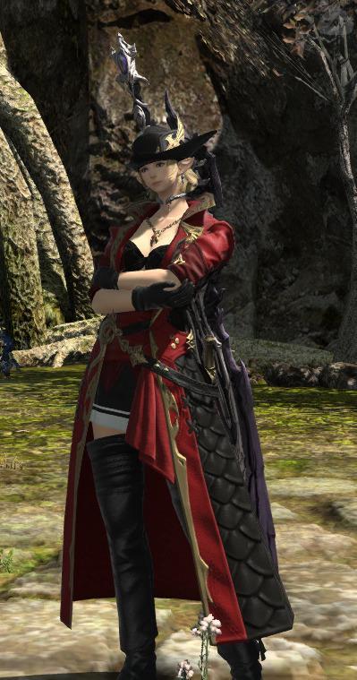 赤外套の暗黒騎士
