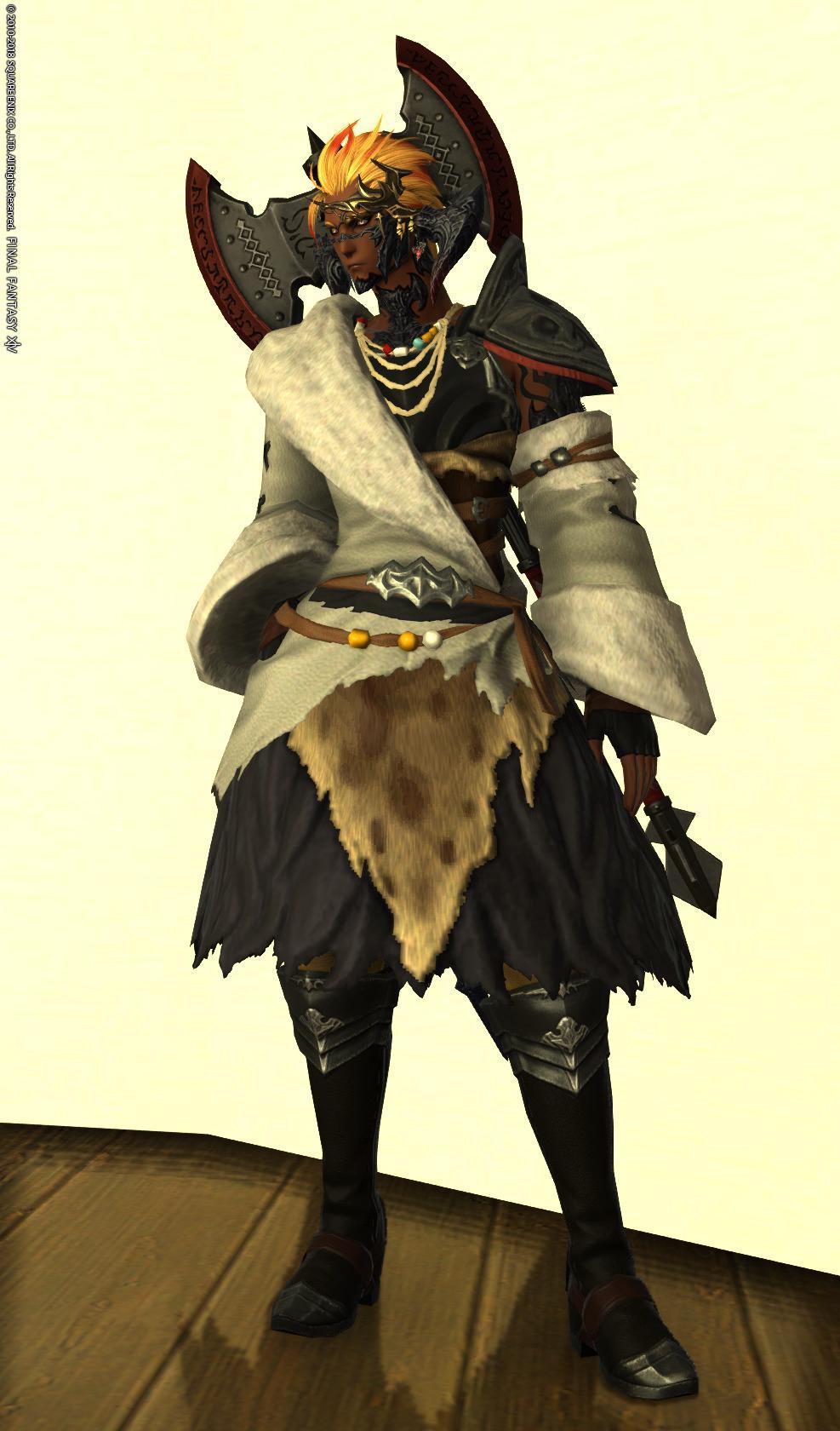 部族風戦士
