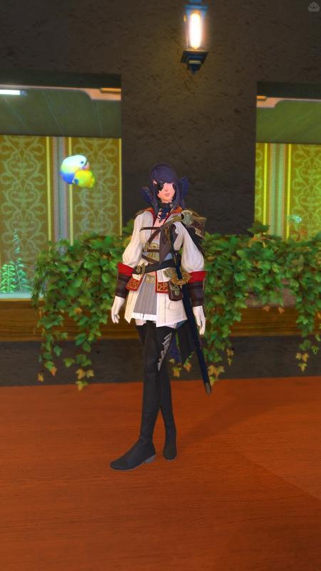 海賊風の侍少女