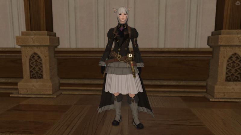 女の子騎士風コーデ