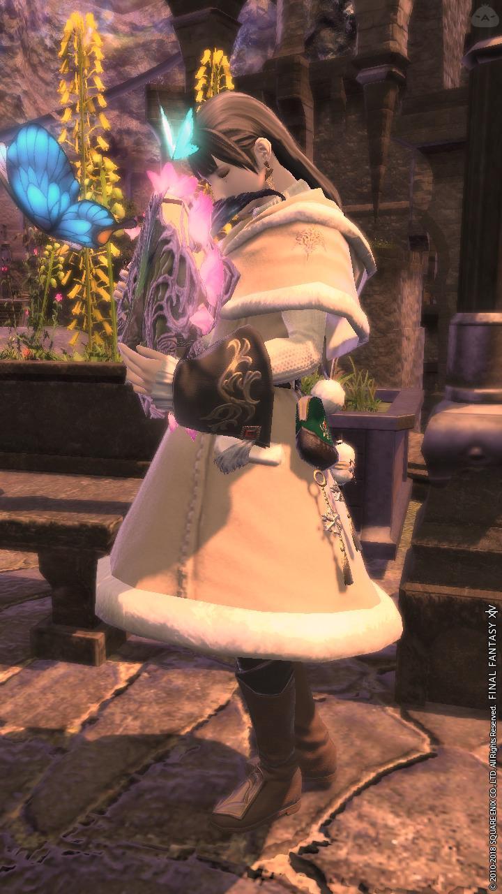 ウィスパーファインウール・コートを尻目に我慢するの巻