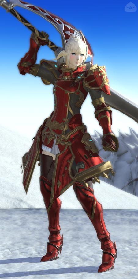 ネロさン謹製・赤騎士装備