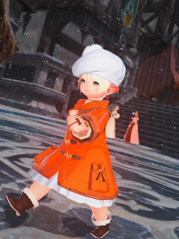 秋色コート