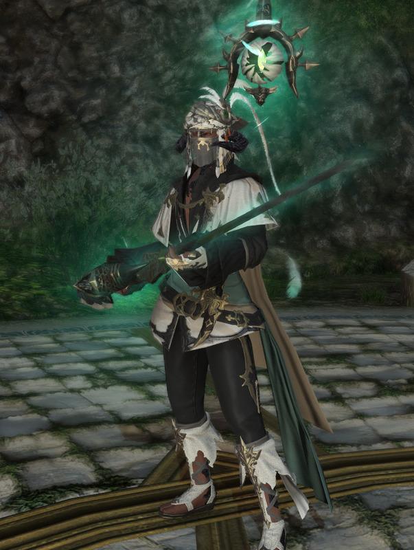 魔法剣士的赤魔