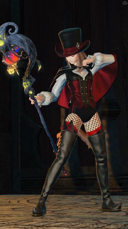 黒魔道士のハロウィンコス♪
