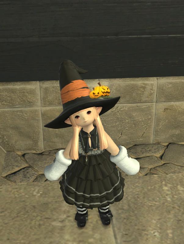 *ハロウィン*魔女っ娘ララフェル