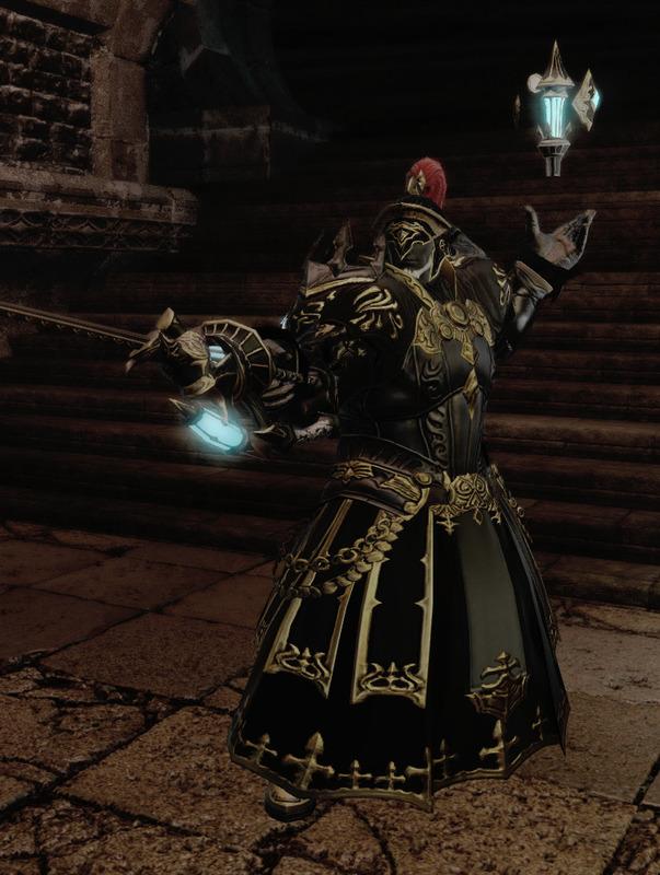 甲冑系赤魔導士