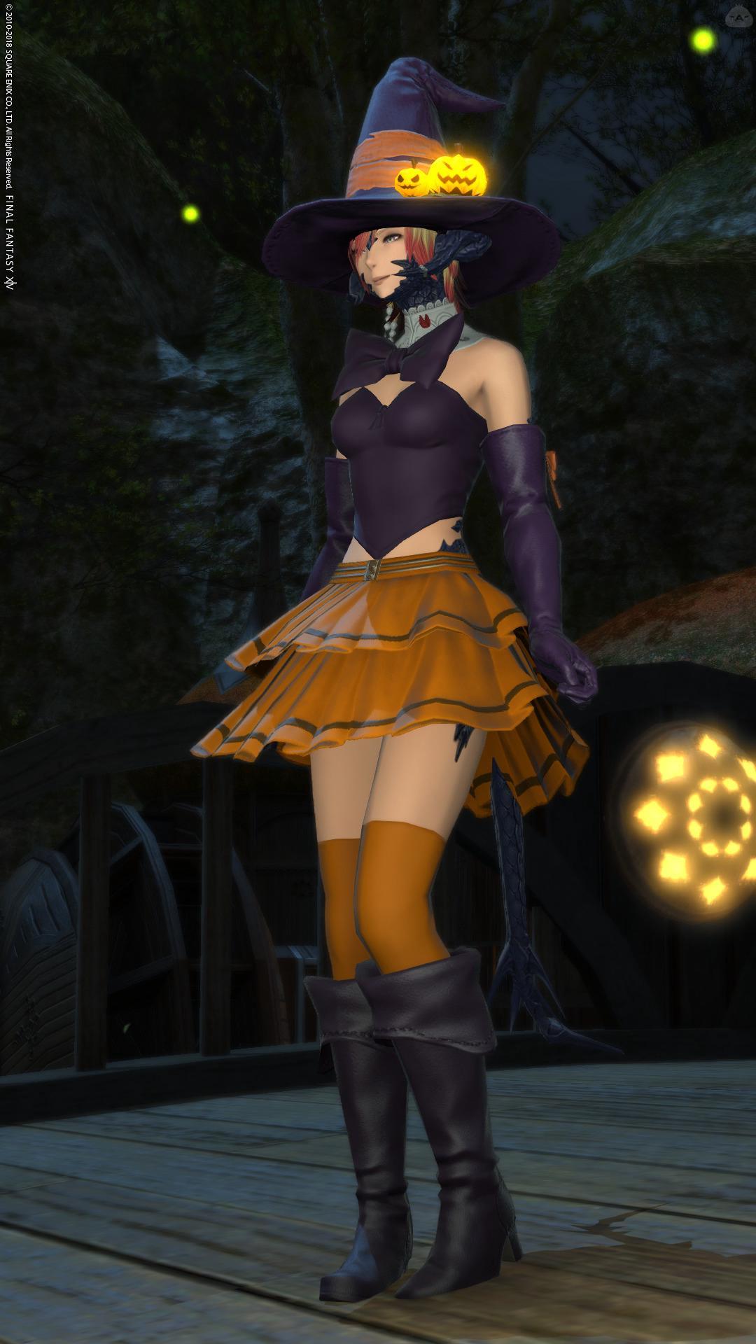 ハロウィン風魔女っ子