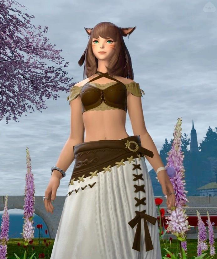 新IDのヒーラー用スカート!