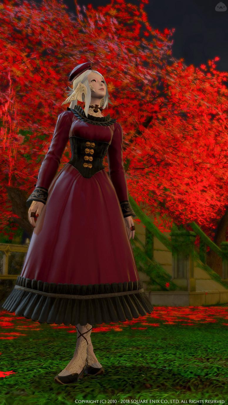 秋のご令嬢スタイル