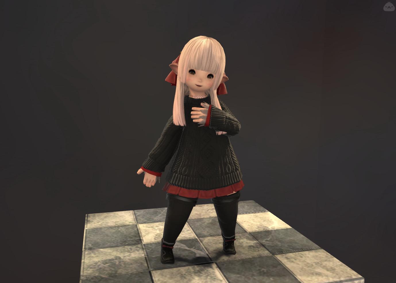 赤黒ツートン