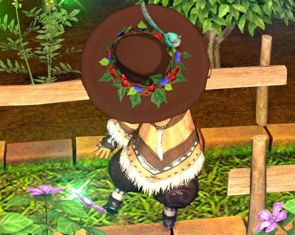 リテ子の帽子