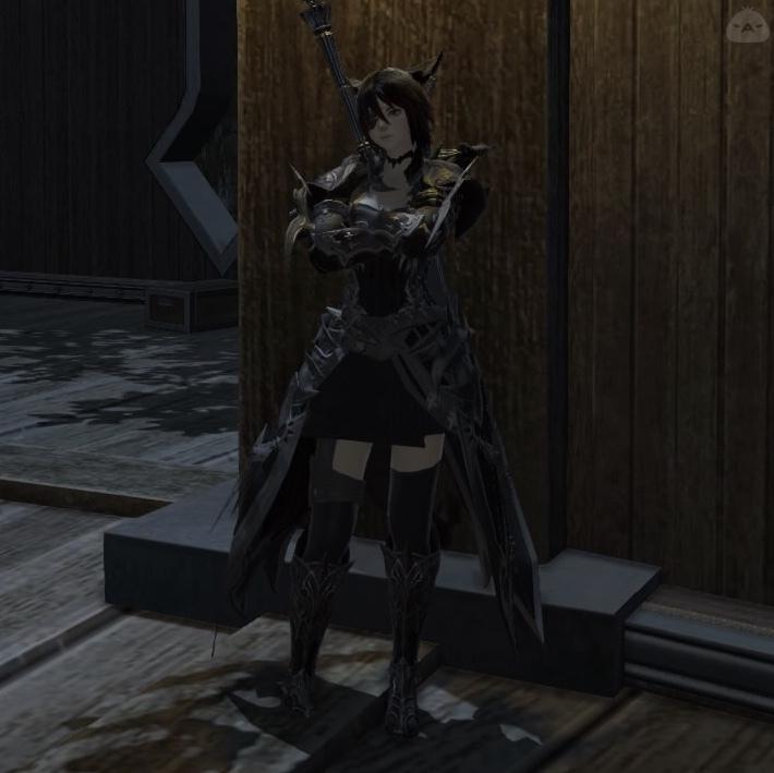 闇夜の暗黒騎士