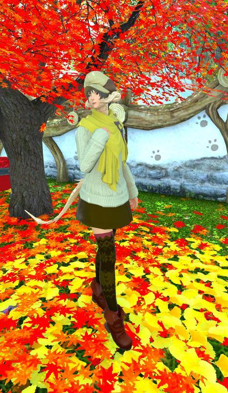 肌寒い晩秋のコーディネート