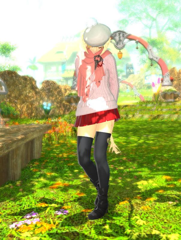 秋冬可愛い系私服