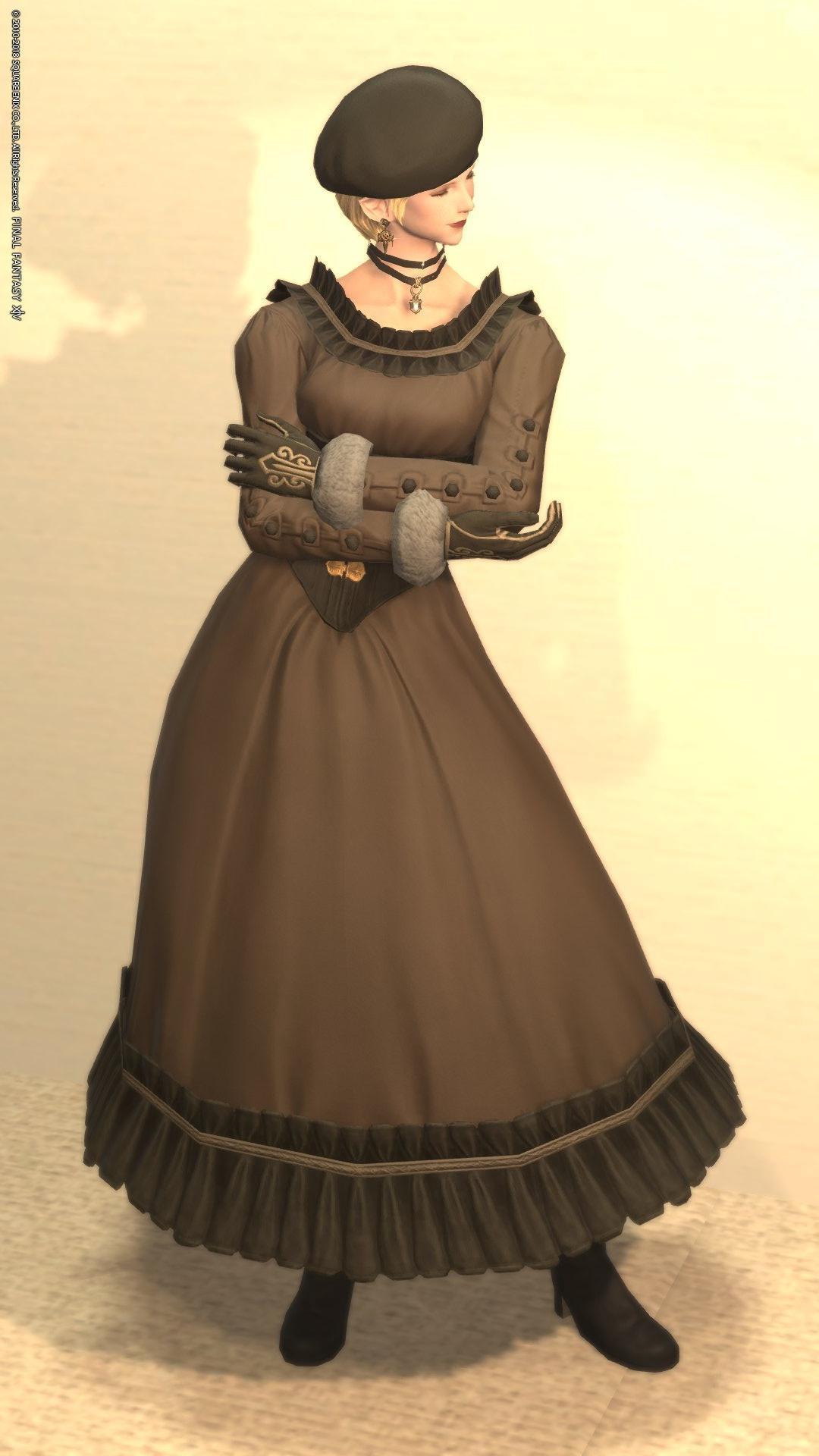 レトロクラシカルドレス