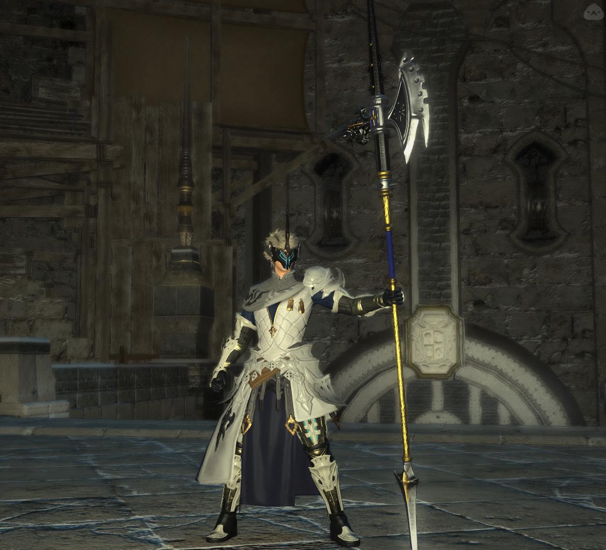 仮面の白騎士