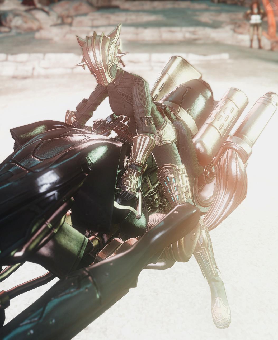 バイクに似合うミラプリ
