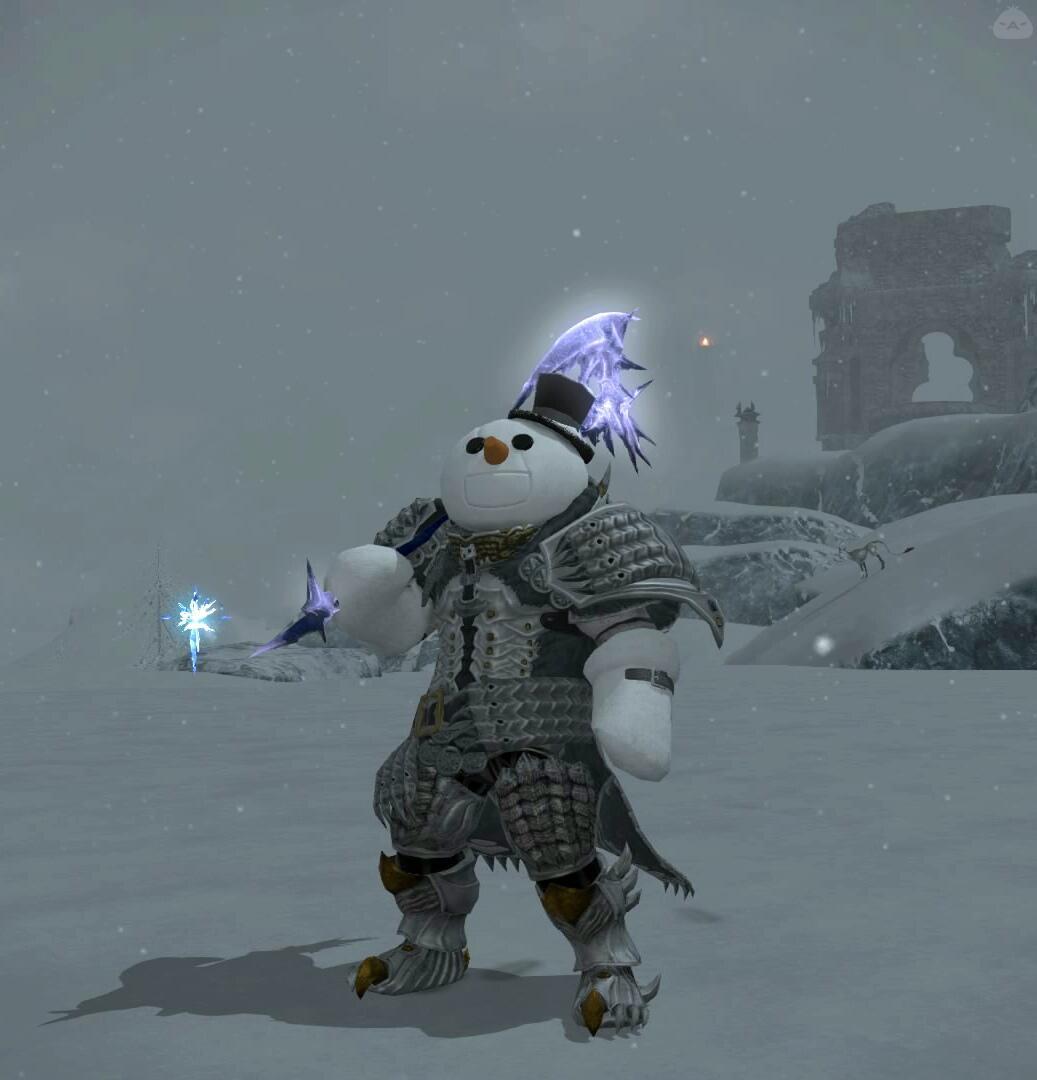 フルアーマー雪だるま