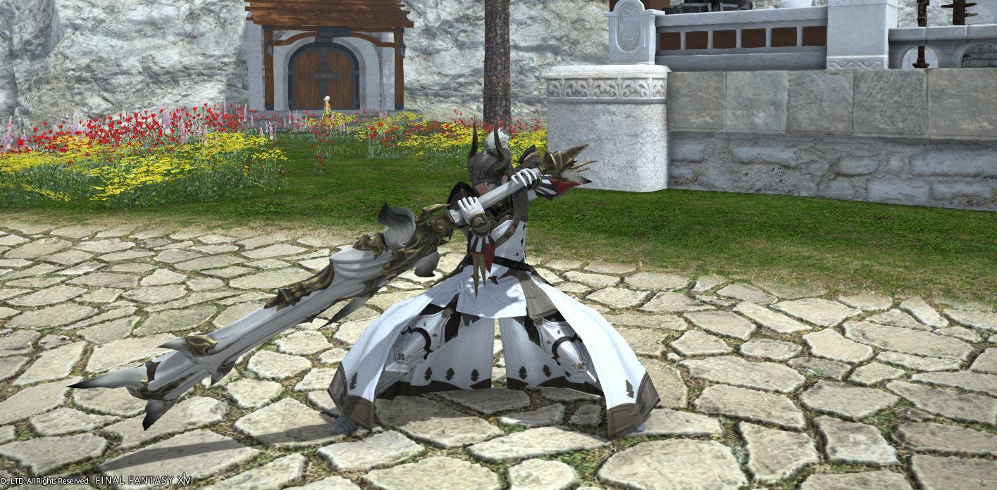 異端の白い暗黒騎士