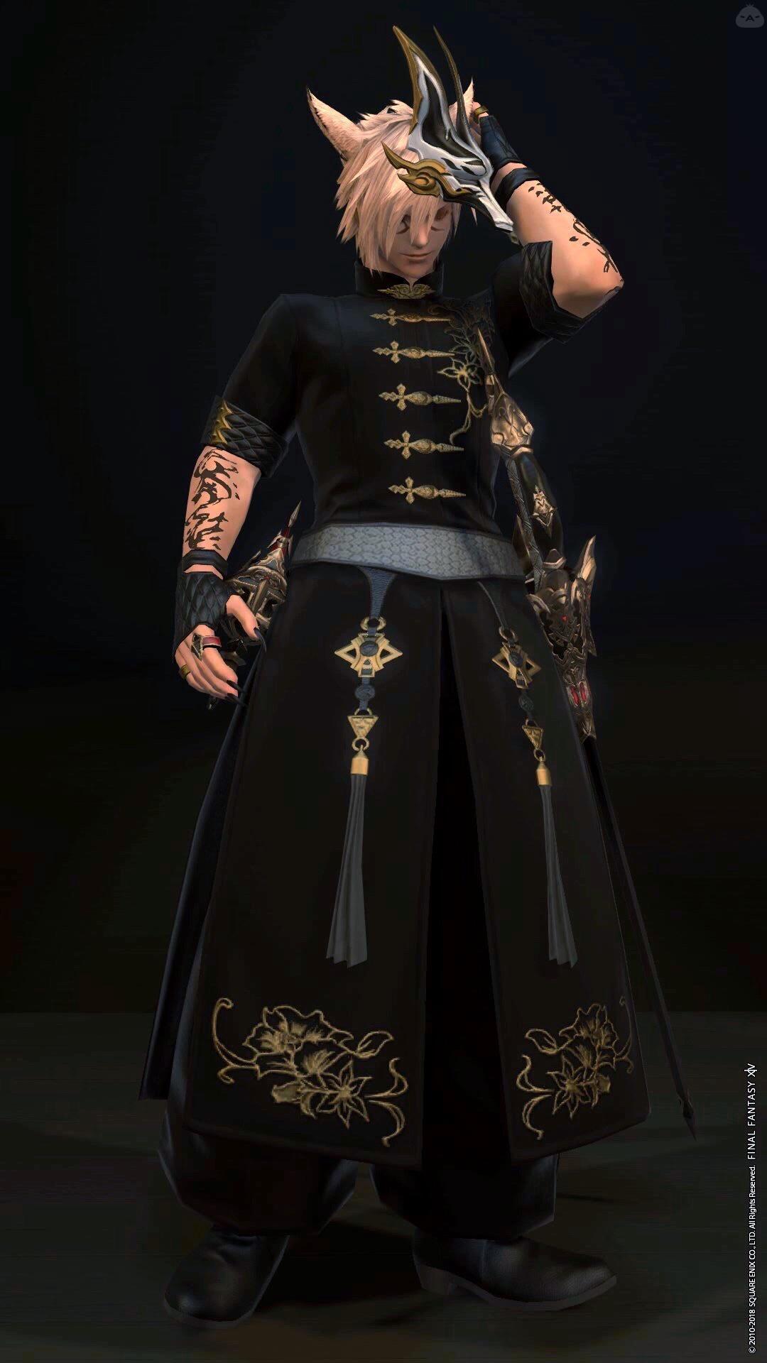 門客衣装×赤魔道士
