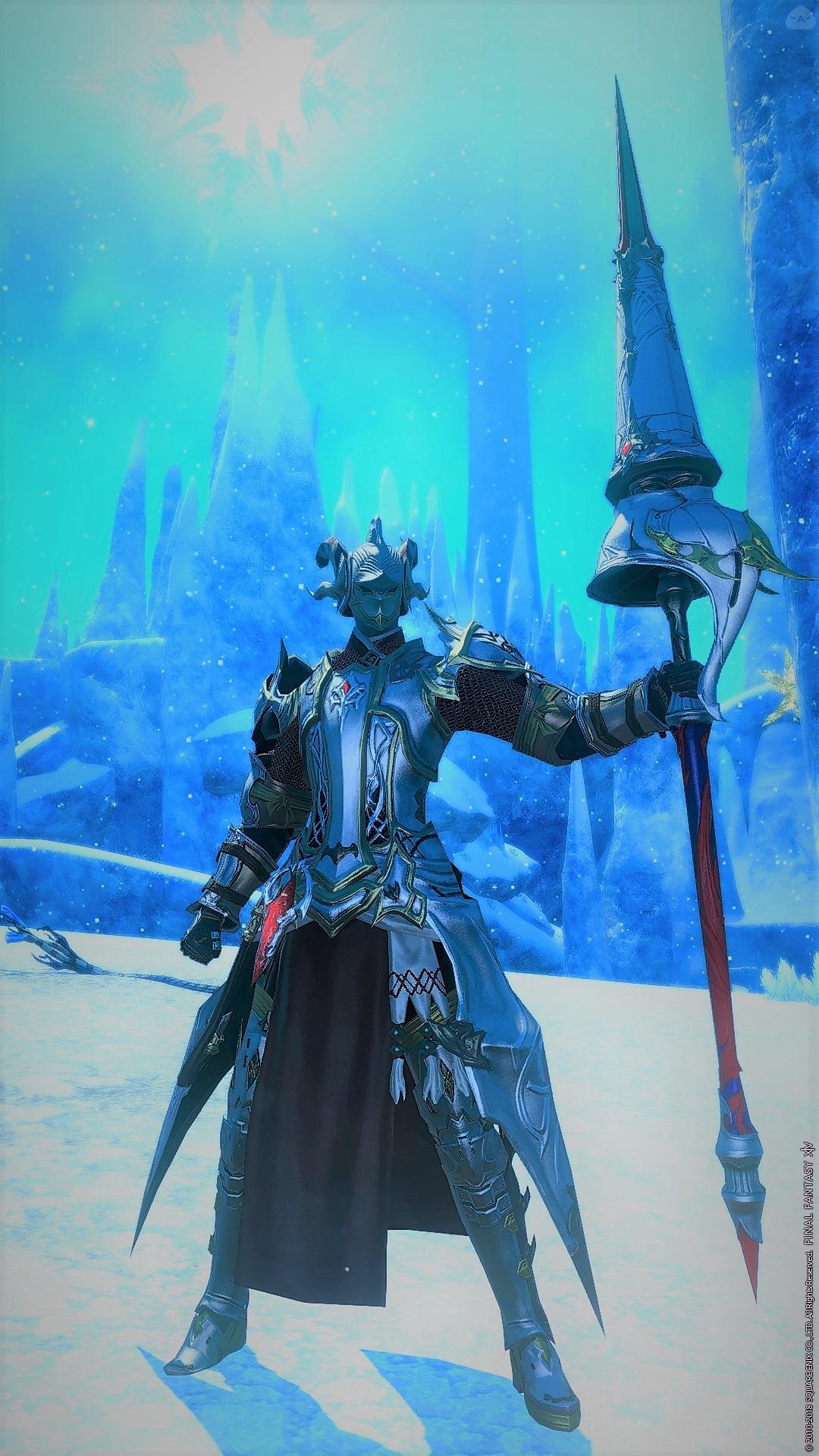 銀鎧の聖騎士