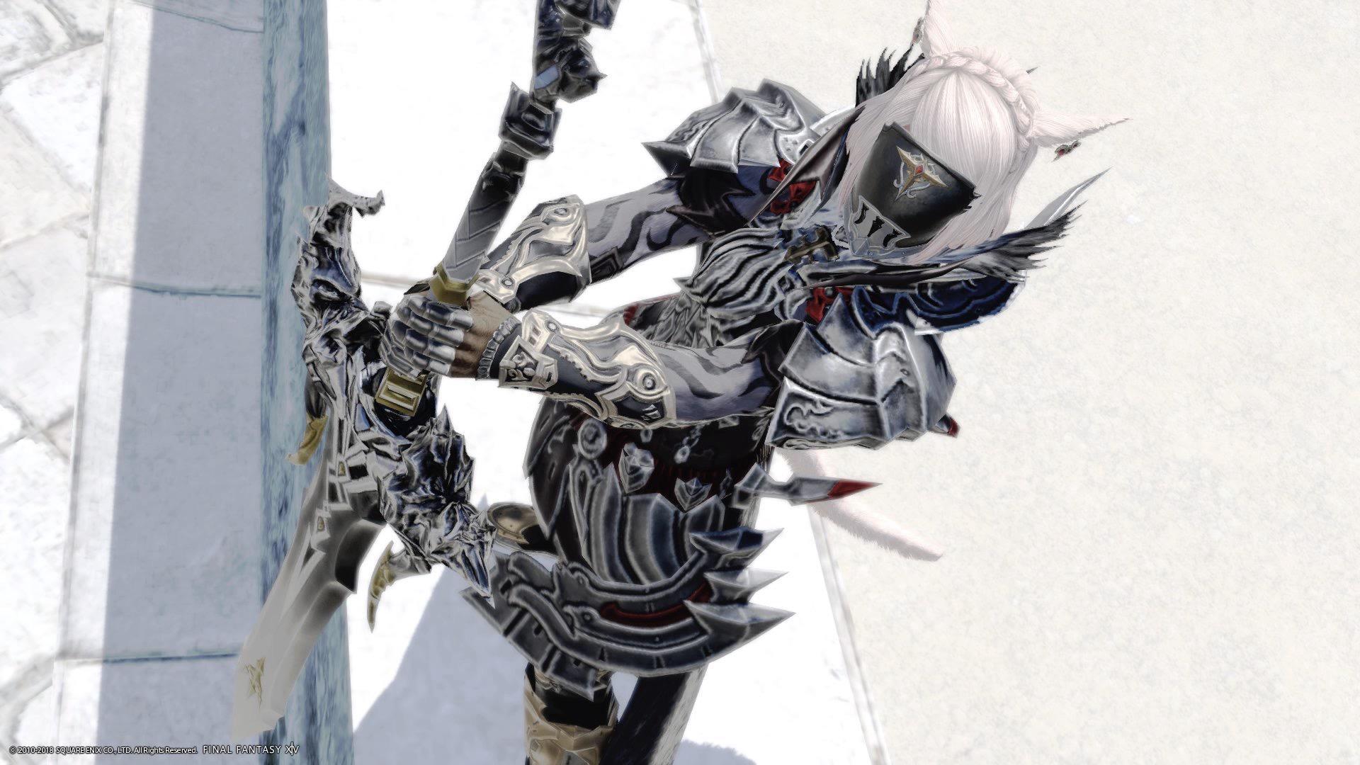 こってこての暗黒騎士