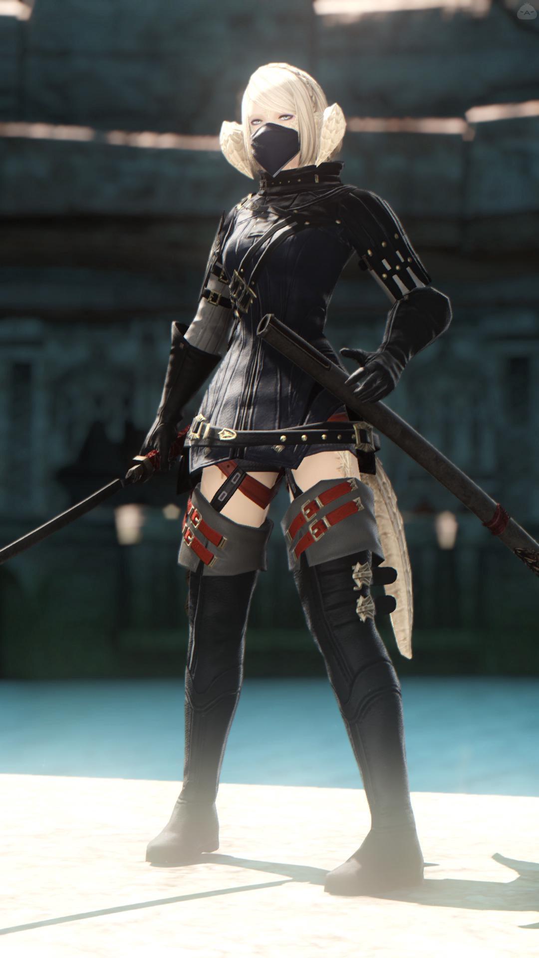 新都の刀剣士