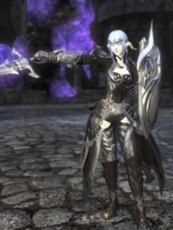 銀色の騎士