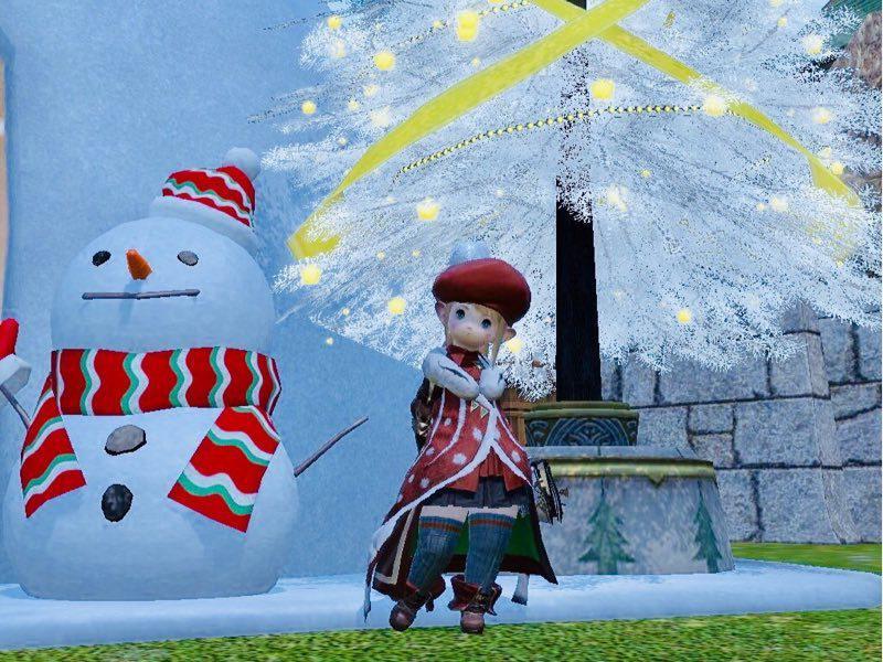 見納めクリスマスミラプリ