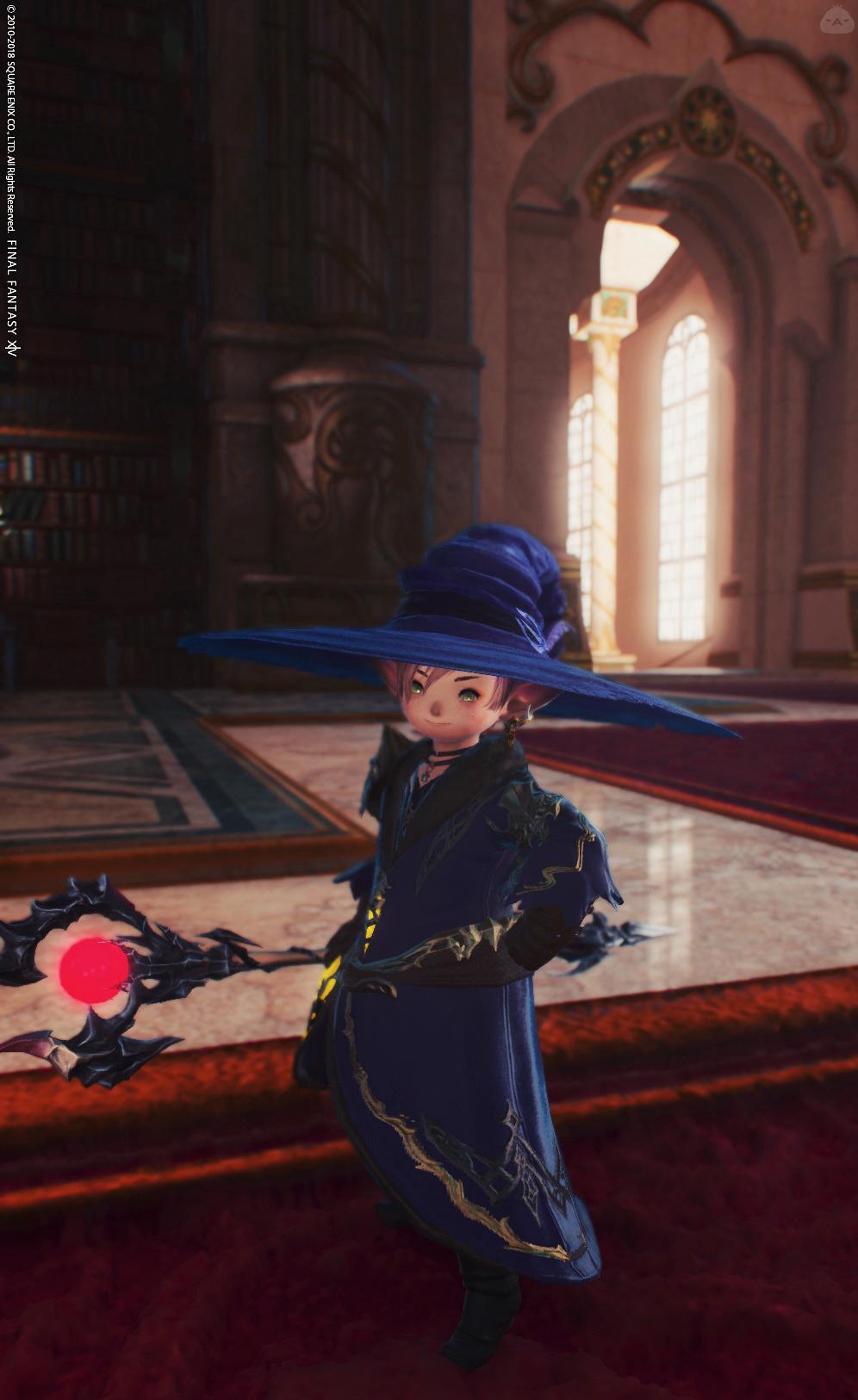 小さな黒魔道士