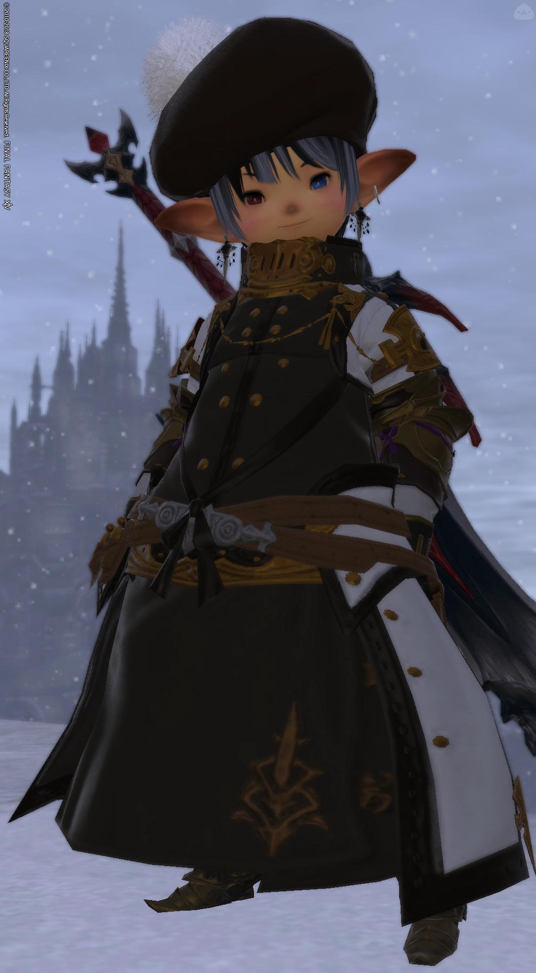暗黒騎士団軍服