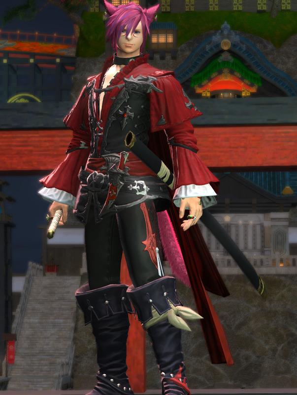 紅の刀剣士