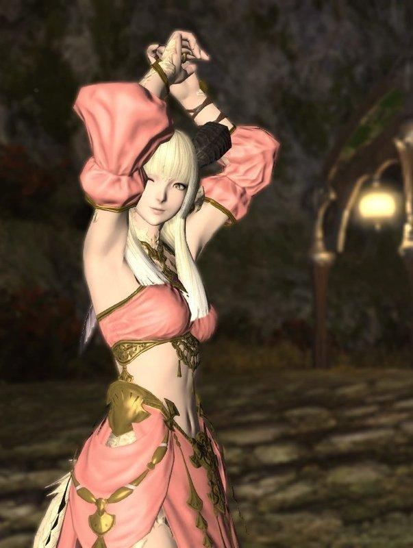 桃色踊り子