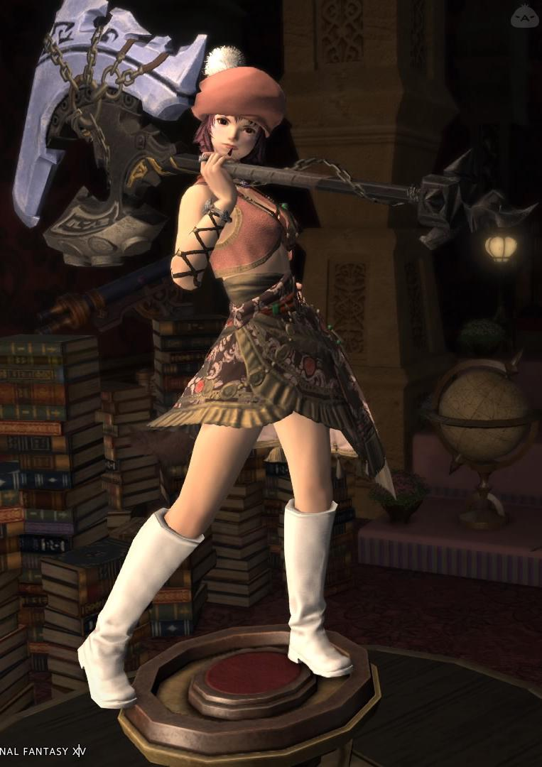 戦士〜火力より女子力