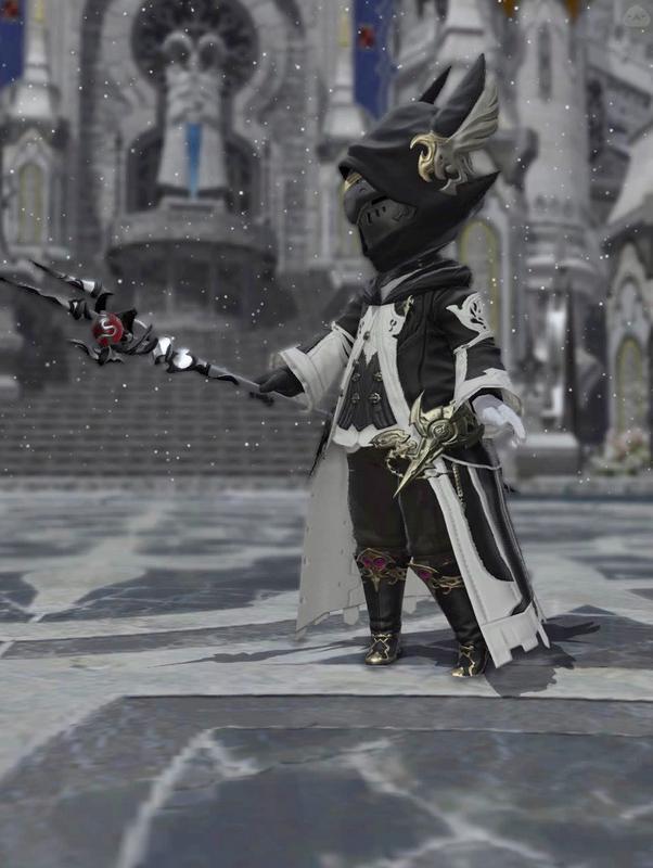 Black Griffin Mage