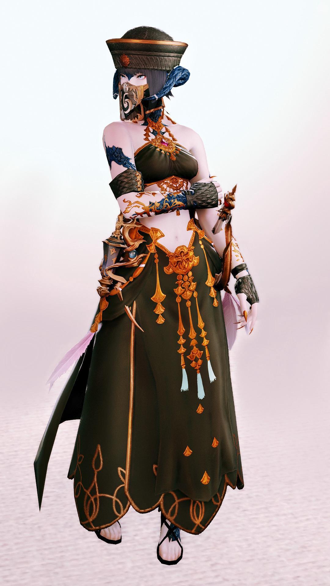 踊り子呪術師