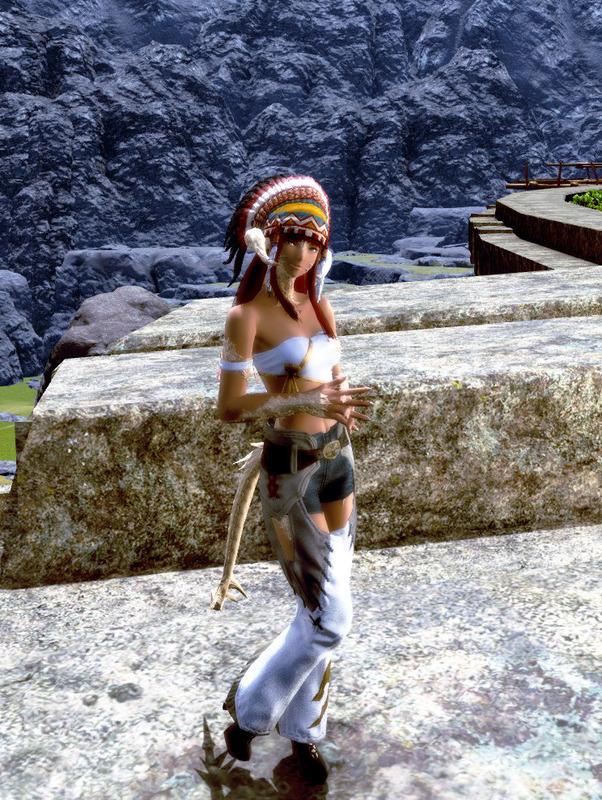 とある部族の戦士