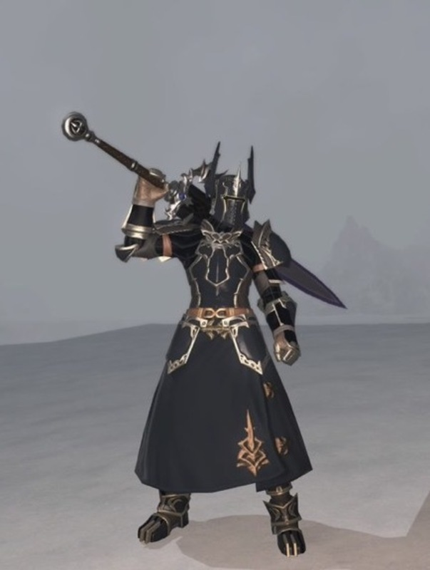 孤高の暗黒騎士