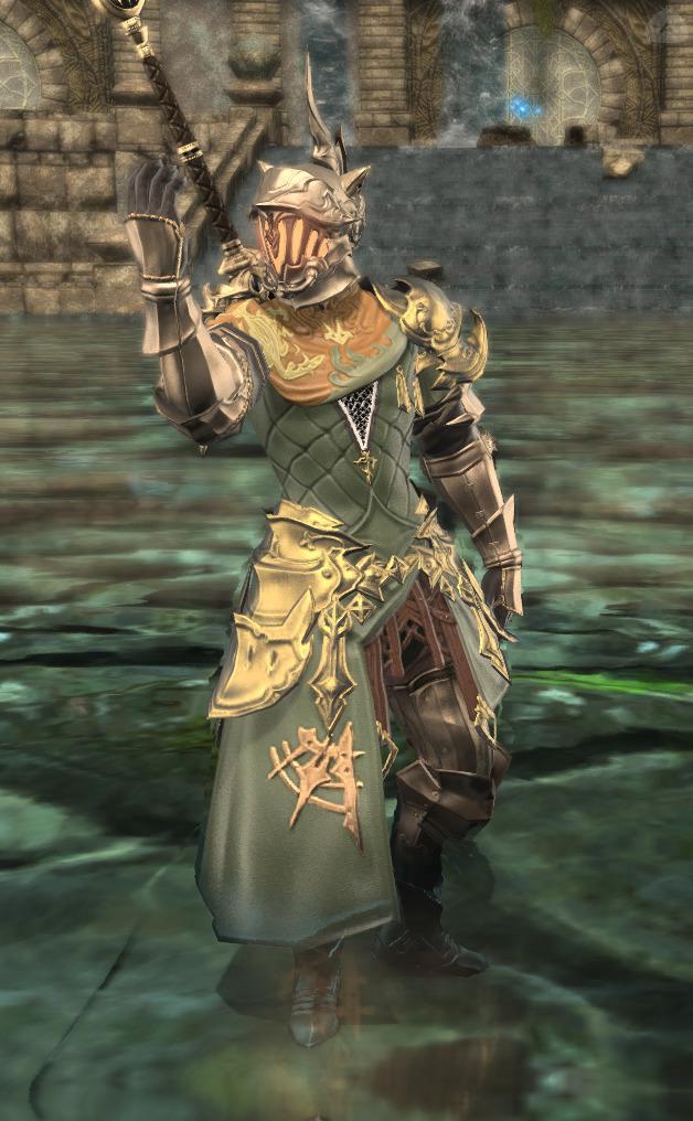 深緑の暗黒騎士
