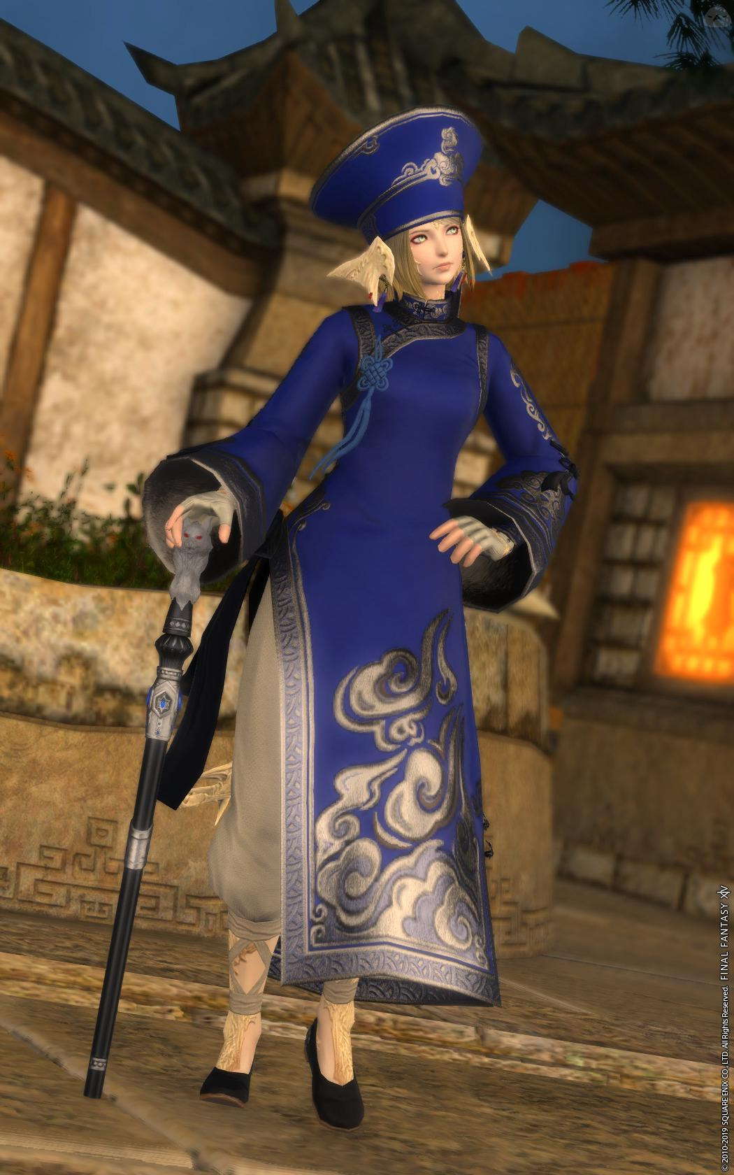 Chinese Blue Mage