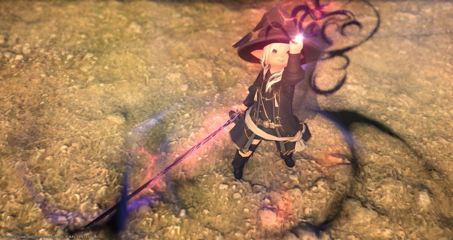 闇の魔法剣士