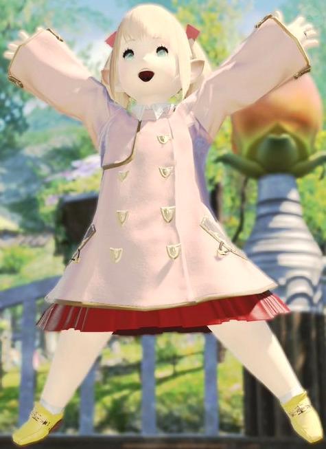 幼稚園の制服風ミラプリ♪