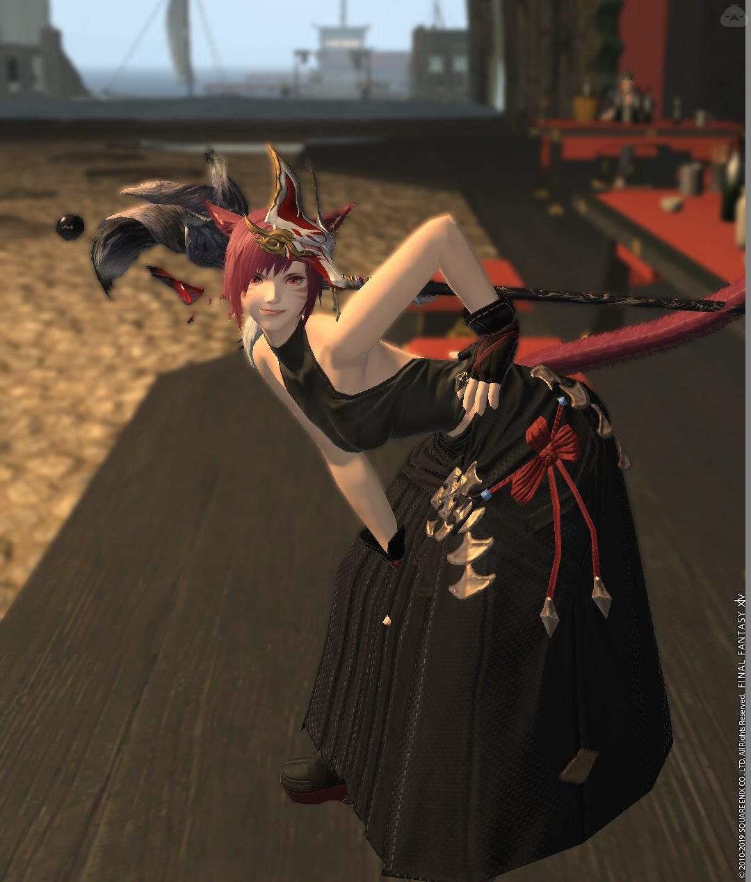 黒×赤きつね