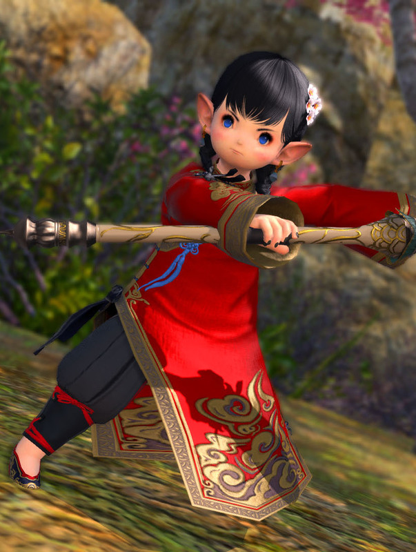 中国少女魔道士