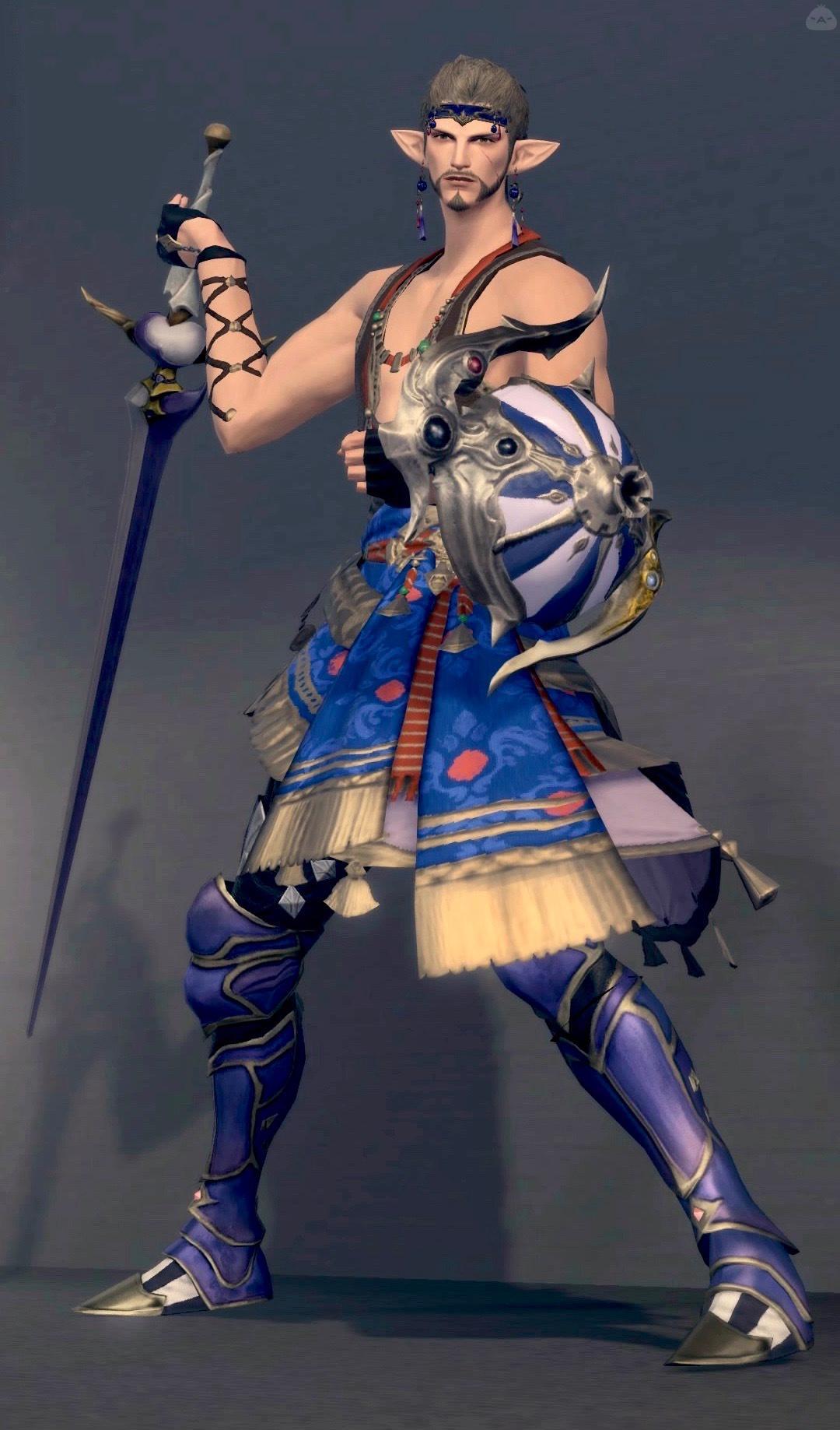 幻想の戦士