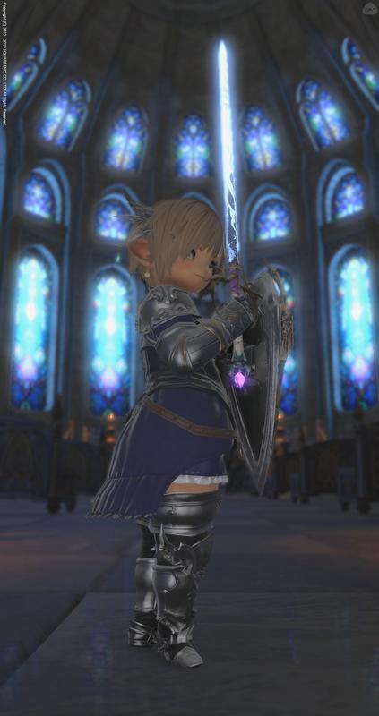 ララフェル x 聖騎士