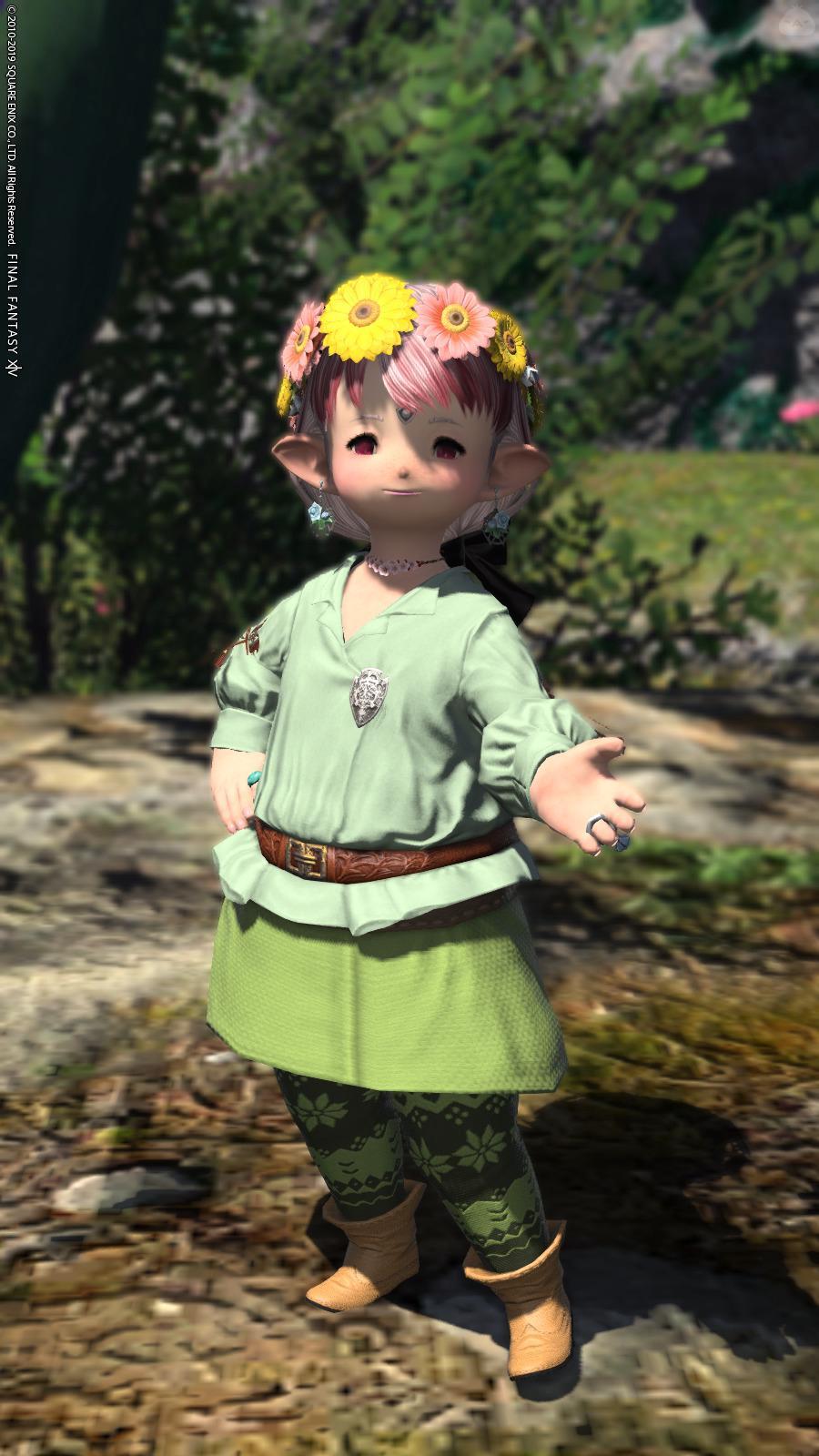 春風の装い